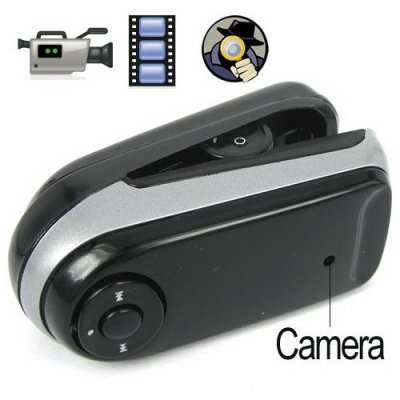4GB Clip-Shaped MP3 Player with Mini Camera Support Webcam